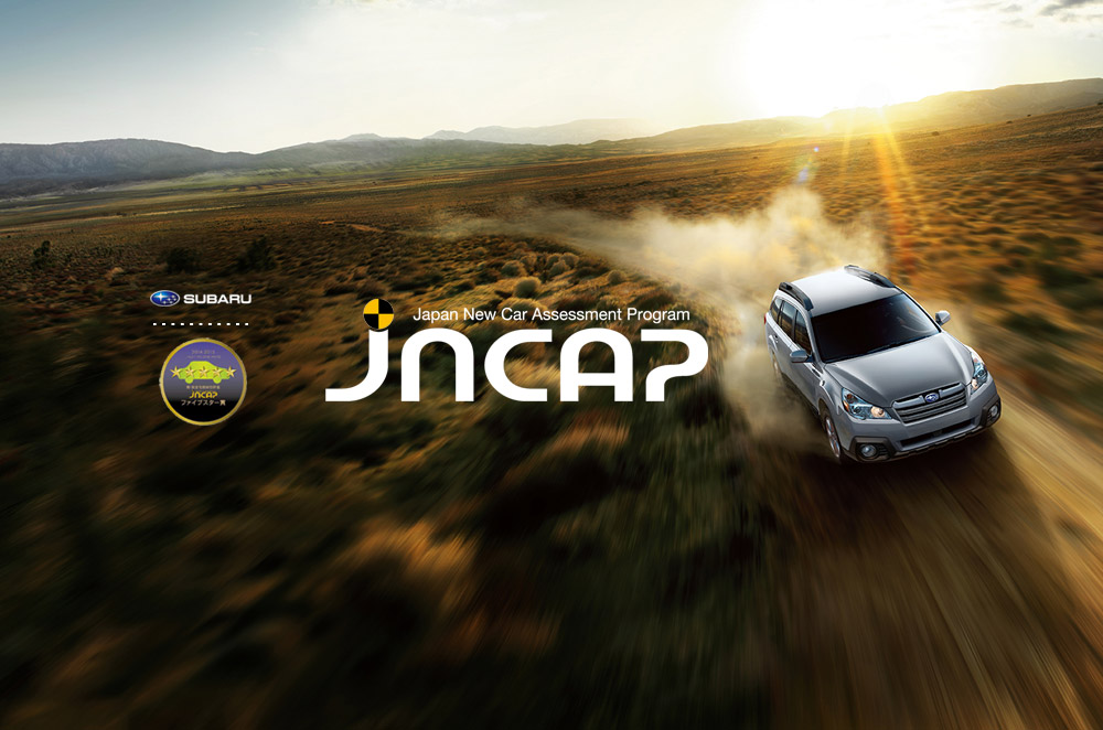 Subaru Outback, Legacy, Forester, and WRX receives JNCAP 5-Star Award