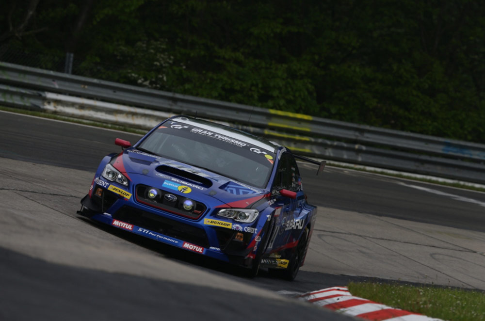 Subaru WRX STI NBR Challenge wins at the Nürburgring 24 Hour race