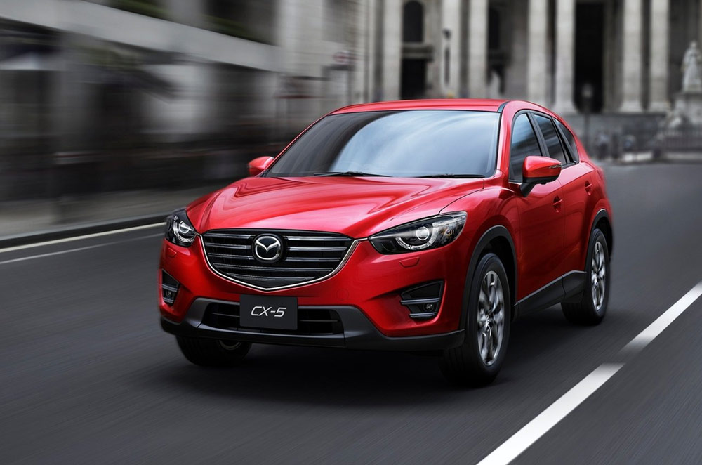 Mazda produces 1-million units of the CX-5 in just 3.5 years