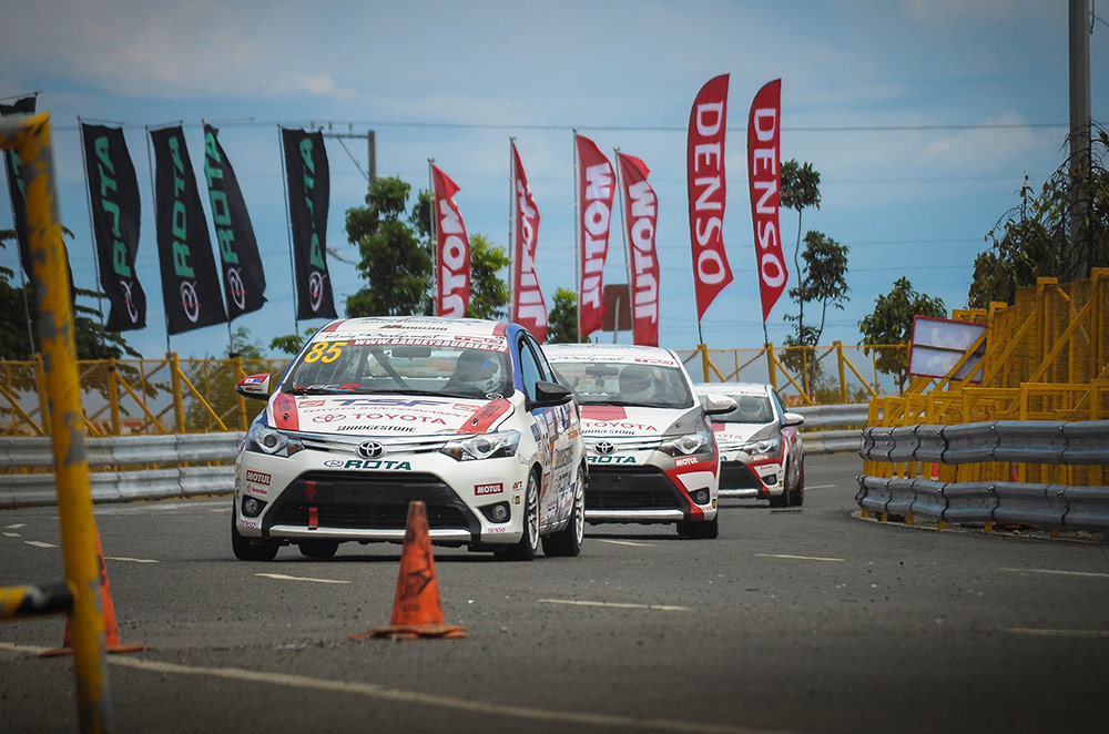 Toyota San Fernando dominates Promotional Class of the 2015 Vios Cup Round 2