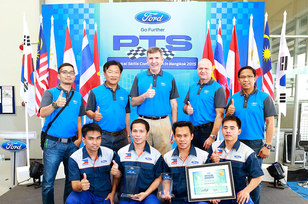 Ford Philippines' shine at the 2nd Annual Technical Skills and Express Service Competition