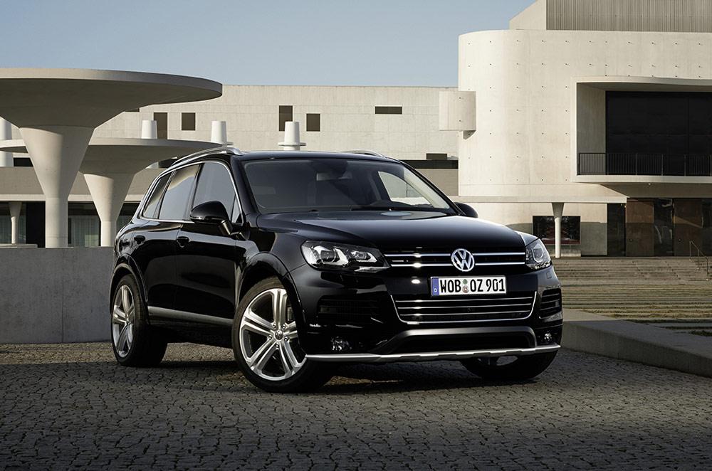 Premium SUV for the practical executive, the VW Touareg Sport Edition