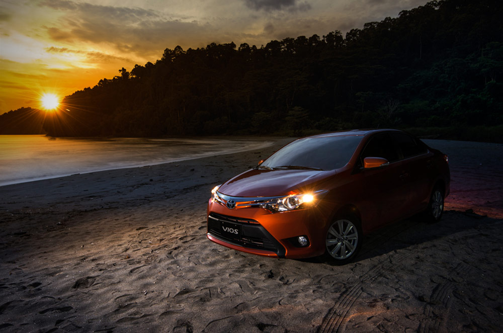 The Vios once again brings record-breaking sales figures for Toyota Philippines