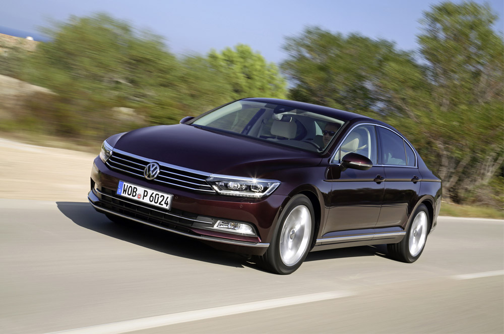 Volkswagen stirs up midsized luxury sedan competition with the All-new Passat