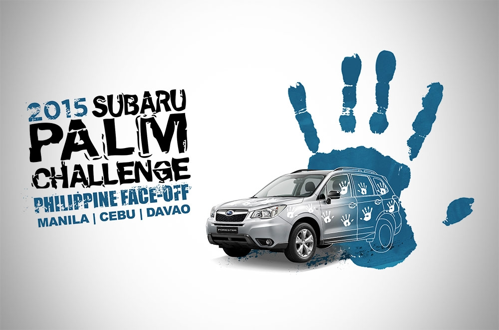 Subaru Philippines holds successful Palm Challenge 2015 in Cebu and Davao