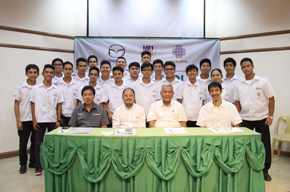 Mazda Philippines and MFI Foundation extend partnership to provide scholars with education