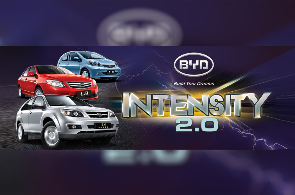 Premium items awaits customers through BYD Philippines' Intensity 2.0 promo