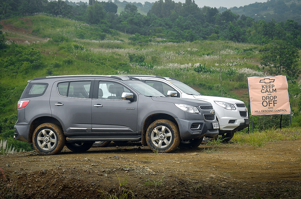 Chevrolet demonstrates why the Colorado and Trailblazer are 'Born Ready'