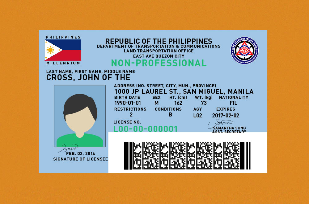 Stricter driver's license requirements to be implemented by the LTO by November