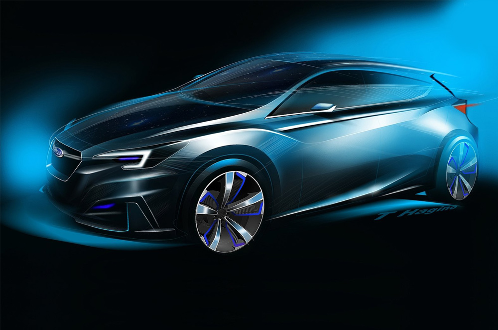 Subaru unveils concept of the all-new Impreza at the 44th Tokyo Motor Show