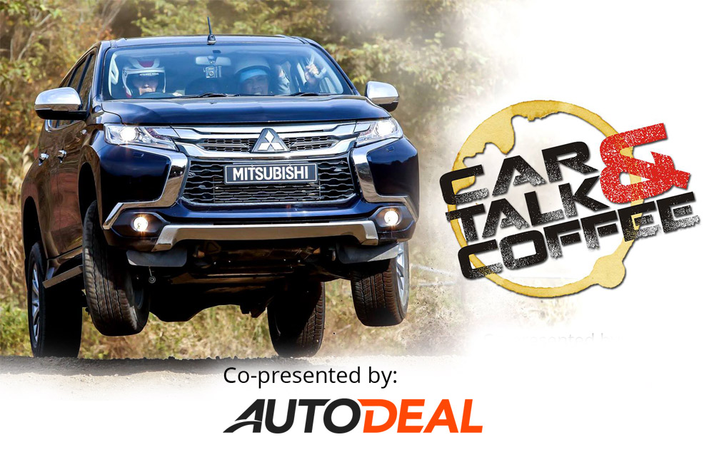 WATCH: CarTalk & Coffee goes off-road with the all-new Mitsubishi Montero Sport