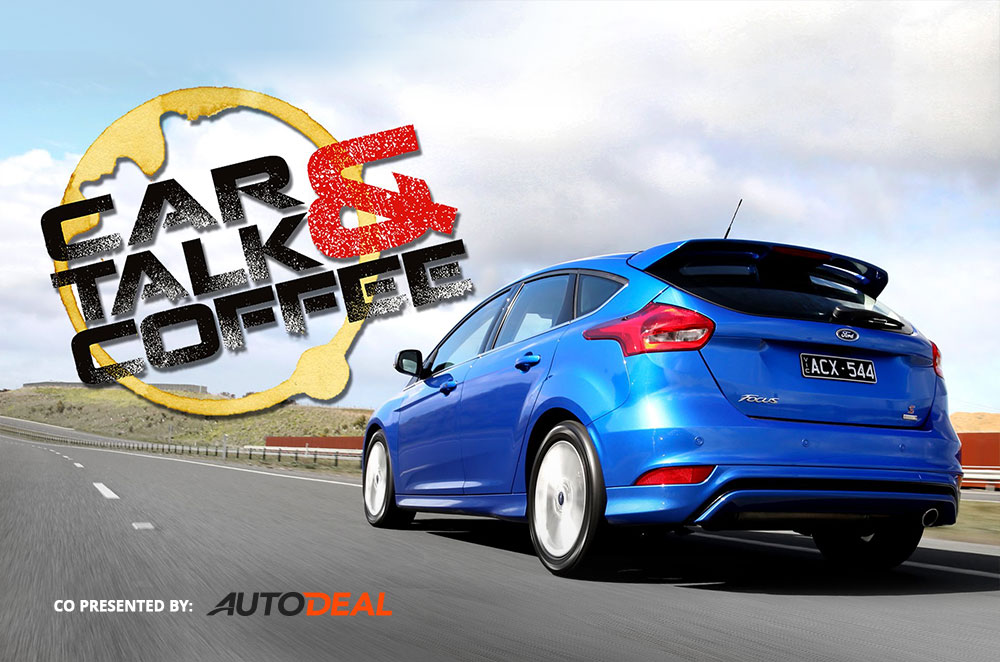 WATCH: The new Ford Focus test driven by CarTalk & Coffee