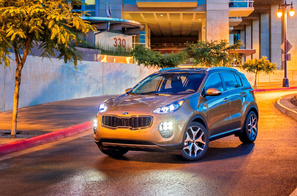 Kia presents all-new 2017 Sportage at the 2015 L.A. Auto Show
