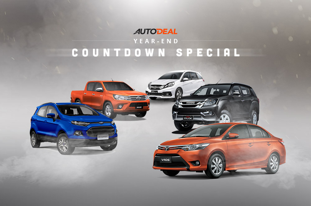 Year-end countdown special: AutoDeal's most popular cars of 2015