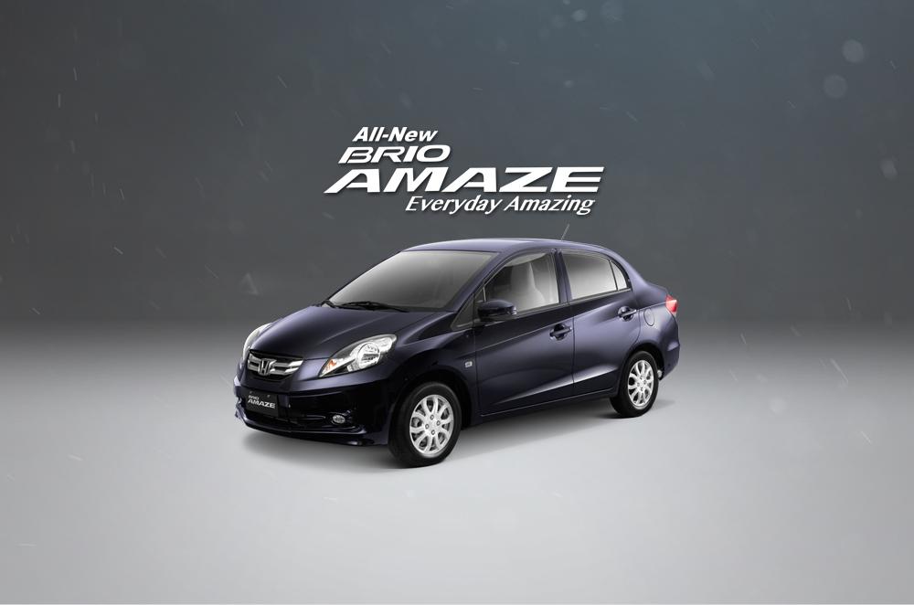 Honda Brio Amaze is fuel-efficient even around the metro
