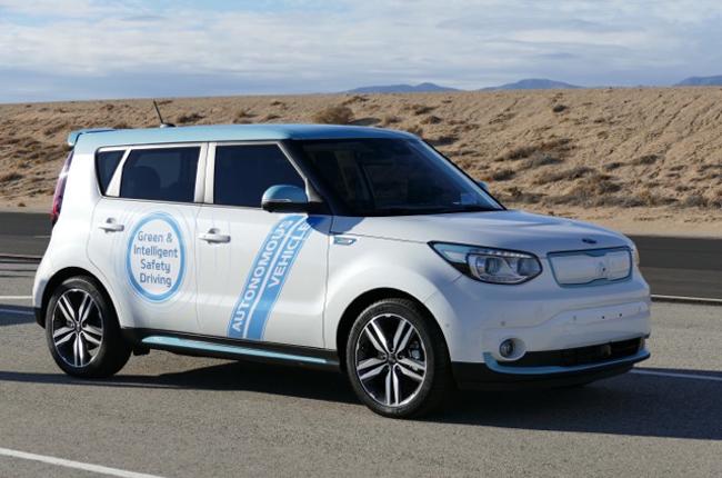 Tested: The autonomous car from Kia