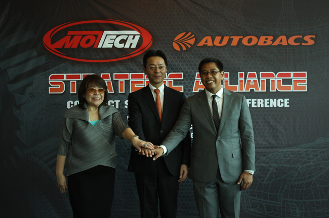 Motech and Autobacs Seven deal set to give pinoy motorists quality alternative to OEM