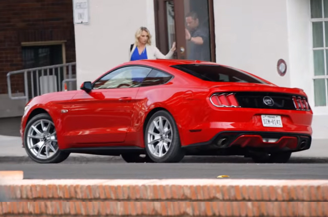WATCH: Ford shows why the new Mustang knows no boundaries