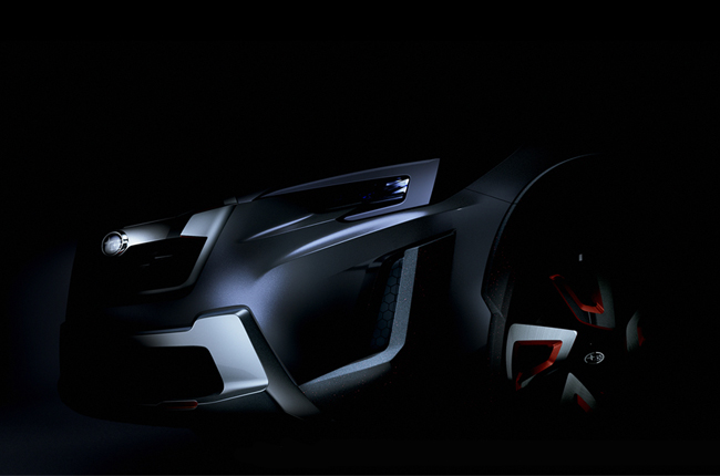 Subaru drops teaser photo of the XV Concept