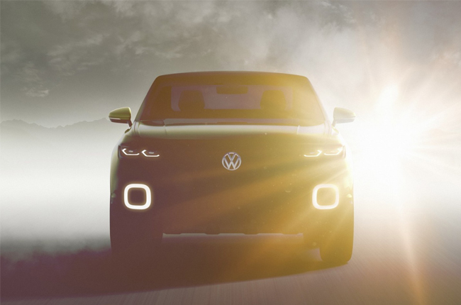 Volkswagen teases us with small SUV concept