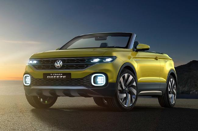 Volkswagen unveils the T-Cross Breeze small SUV concept