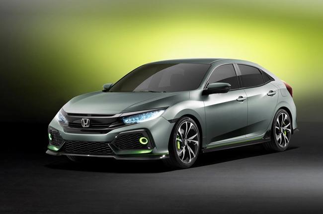 Honda debuts all-new Civic Hatchback prototype in Geneva