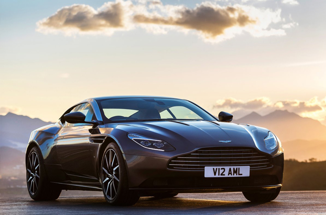 Aston Martin unveils new DB11 in Geneva