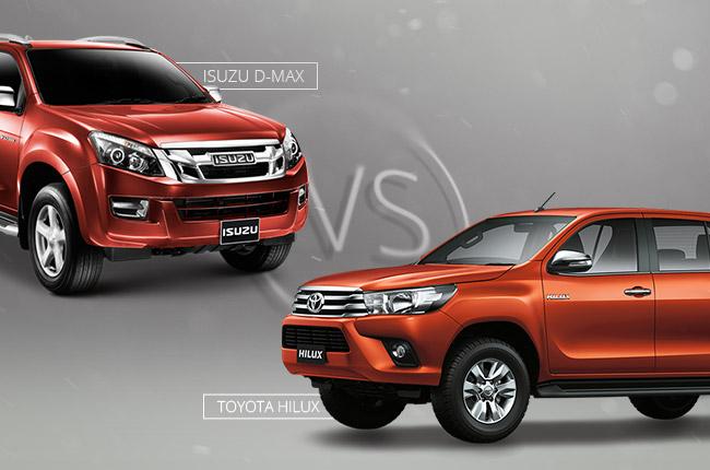 Car Comparo Which Is Tougher Toyota Hilux Or Isuzu D Max