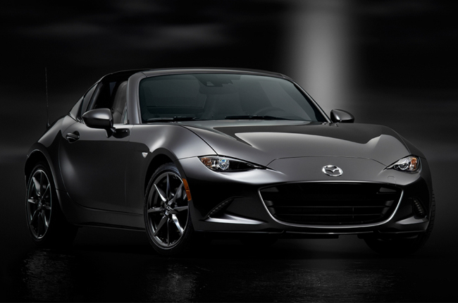 Mazda unveils  MX-5 RF at New York Auto Show