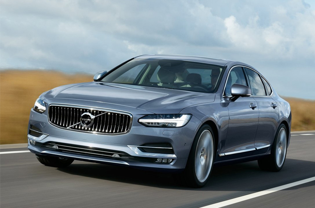 Volvo's all-new S90 sedan debuts in the US