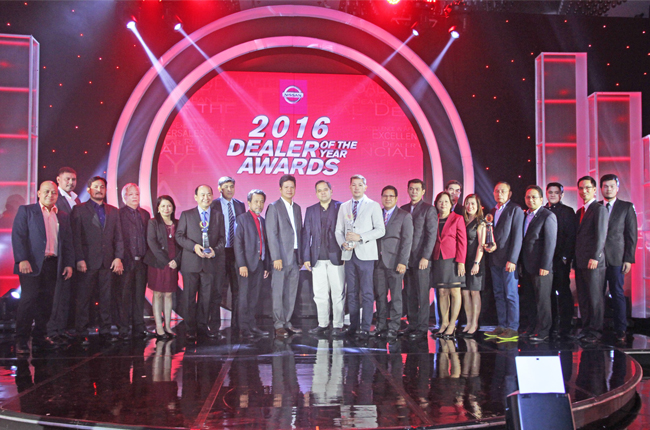 Nissan Ph recognizes exemplary dealers of the year