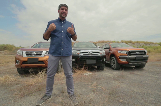 James Deakin to test top pickup trucks in next episode of Drive