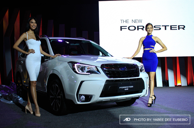 MIAS 2016: Subaru updates Forester with new look and toys
