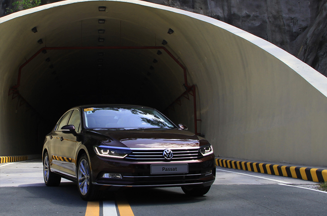Volkswagen Ph takes all-new Passat on an executive drive