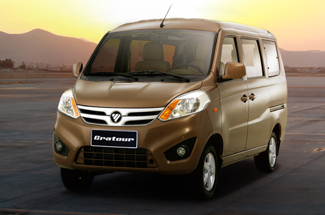 There's now an 8-seat minivan for under half-a-million called the FOTON Gratour