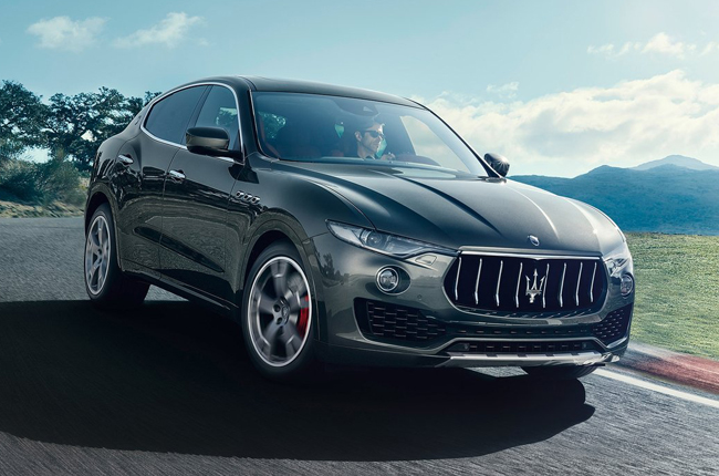 The Levante is Maserati's first-ever performance luxury SUV