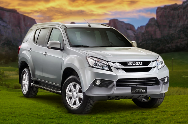 The Isuzu mu-X is the dark horse of the SUV Wars