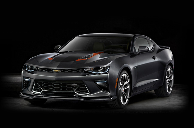 Chevrolet unleashes 50th Anniversary edition Camaro