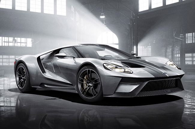 2017 Ford GT takes the Gene Ritvo Award for design and elegance