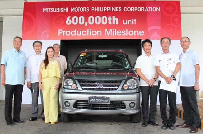 Mitsubishi PH 600,000th production milestone