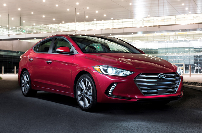 New Hyundai Elantra bags 2016 International Design Award