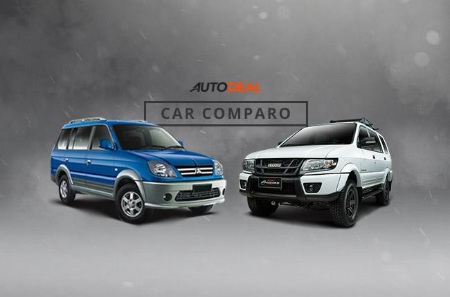 Car Comparo: Which would you prefer, Mitsubishi Adventure or Isuzu Crosswind?