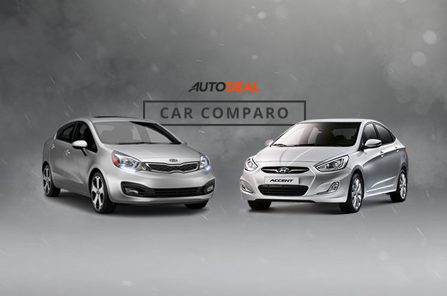 car comparo battle of korean sedans kia rio vs hyundai. Black Bedroom Furniture Sets. Home Design Ideas