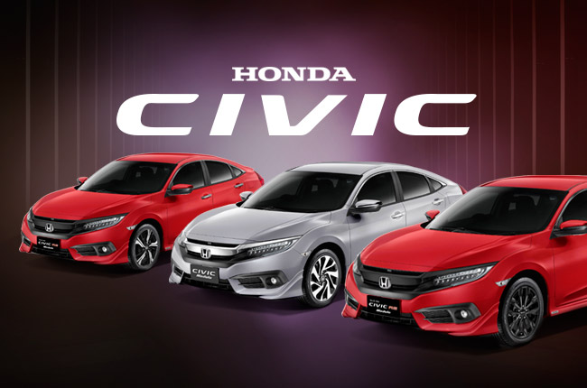 2016 Honda Civic Modulo variants