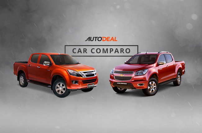 Car comparo: which pickup would you prefer, Chevrolet Colorado or Isuzu D-MAX?