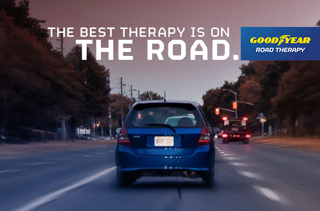 Goodyear launches Road Therapy campaign