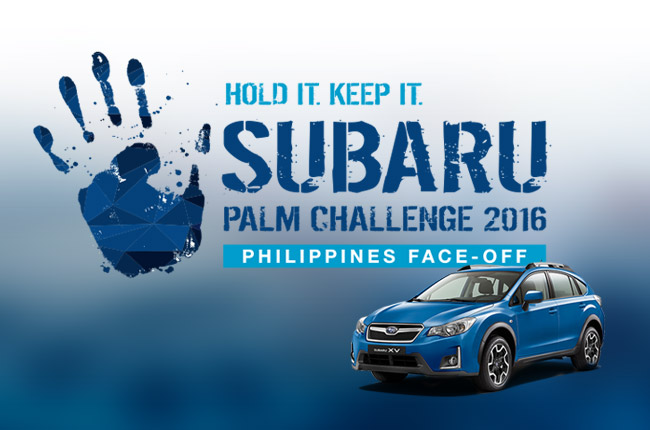 Subaru Palm Challenge Philippines Face Off