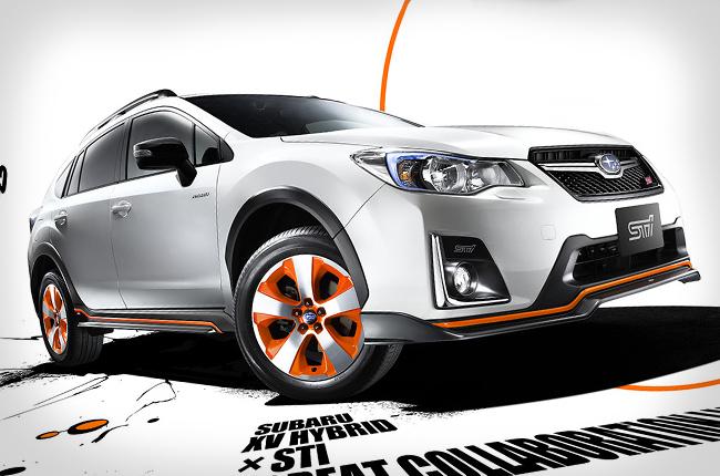 Subaru XV tS Hybrid STI