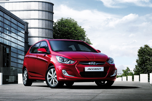 Hyunda Accent Hatchback