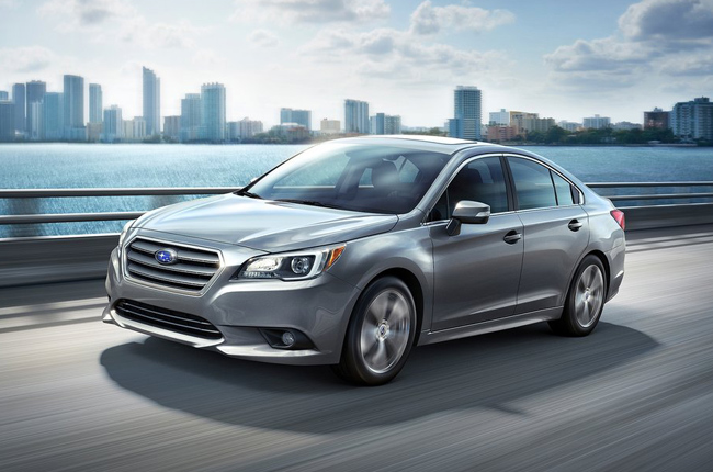 The Subaru Legacy and its standout technology